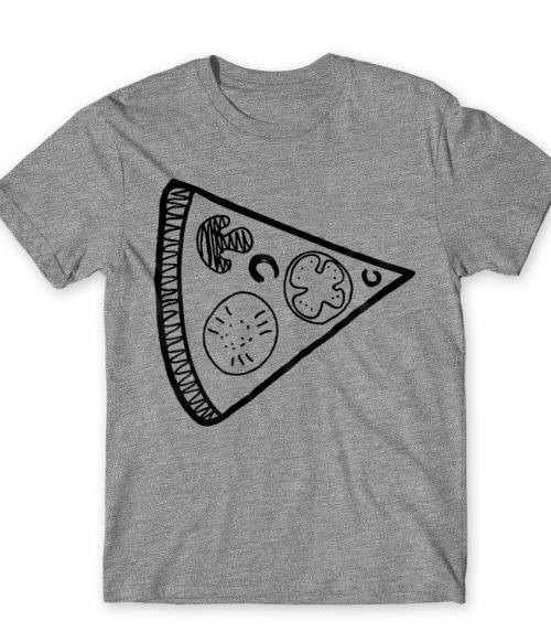 Pizza szelet Póló - Ha Couple rajongó ezeket a pólókat tuti imádni fogod!