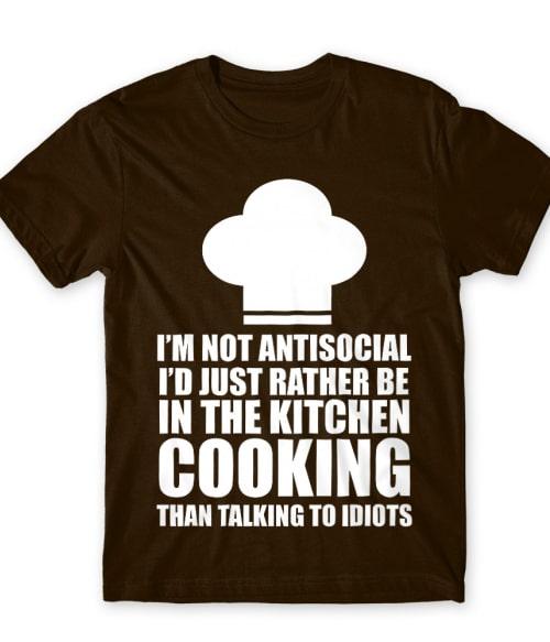 Nem vagyok antiszociális Póló - Ha Hobby rajongó ezeket a pólókat tuti imádni fogod!