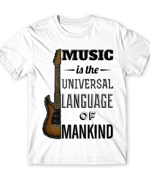 Music language gitar Póló - Ha Hobby rajongó ezeket a pólókat tuti imádni fogod!