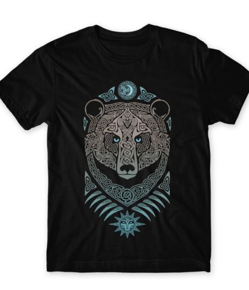 Ancient Bear God Póló - Ha Vikings rajongó ezeket a pólókat tuti imádni fogod!