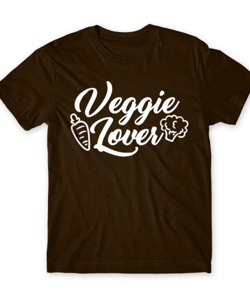 Veggie lover Póló - Ha Vegetarian rajongó ezeket a pólókat tuti imádni fogod!