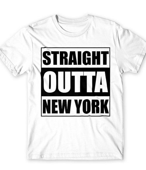 Straight Outta New York Póló - Ha Gossip Girl rajongó ezeket a pólókat tuti imádni fogod!