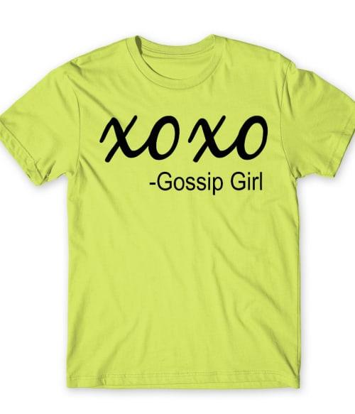 Xoxo Gossip Girl Póló - Ha Gossip Girl rajongó ezeket a pólókat tuti imádni fogod!