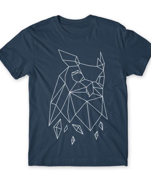 Polygon owl Póló - Ha Owl rajongó ezeket a pólókat tuti imádni fogod!