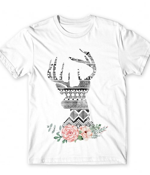 Aztec deer Póló - Ha Deer rajongó ezeket a pólókat tuti imádni fogod!