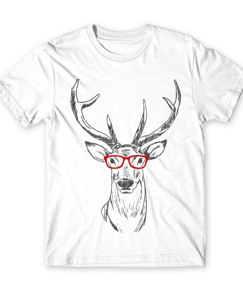 Hipster deer Póló - Ha Deer rajongó ezeket a pólókat tuti imádni fogod!