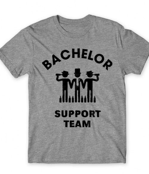 Bachelor support team Póló - Ha Bachelor Party rajongó ezeket a pólókat tuti imádni fogod!