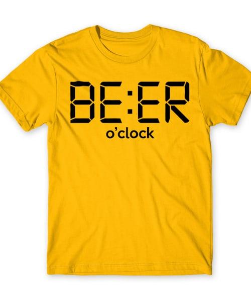 Beer o' clock Póló - Ha Drinks rajongó ezeket a pólókat tuti imádni fogod!