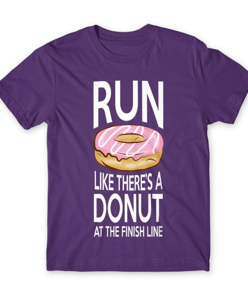 Donut run Póló - Ha Running rajongó ezeket a pólókat tuti imádni fogod!