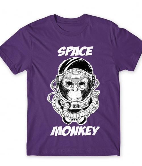 Space monkey Póló - Ha Science rajongó ezeket a pólókat tuti imádni fogod!