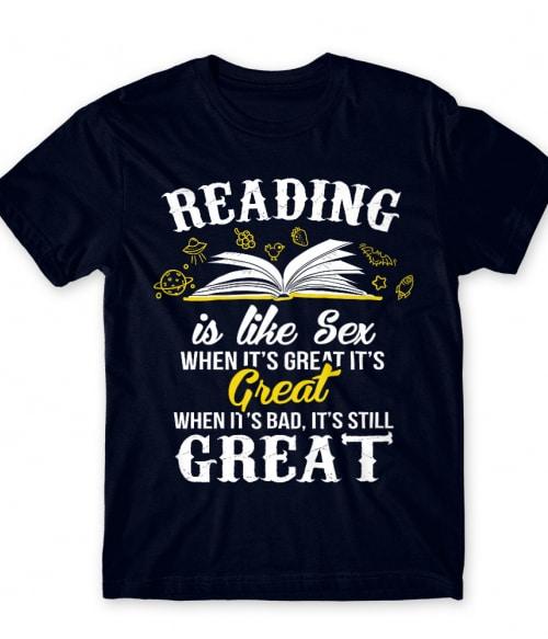 Reading is like sex Póló - Ha Reading rajongó ezeket a pólókat tuti imádni fogod!