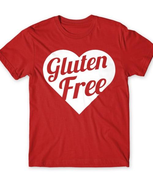 Gluten free heart Póló - Ha Gluten Free rajongó ezeket a pólókat tuti imádni fogod!