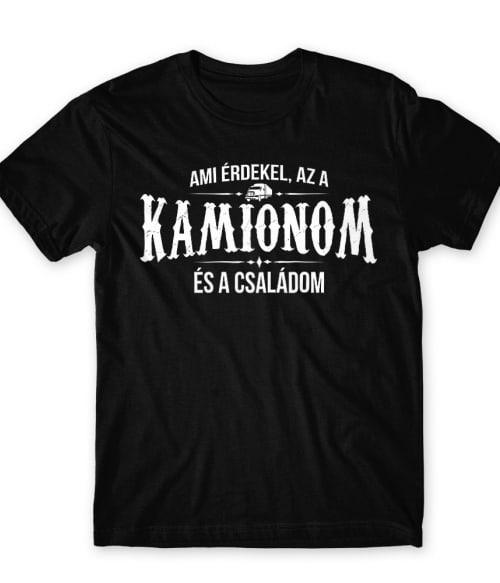 Kamion család Póló - Ha Truck Driver rajongó ezeket a pólókat tuti imádni fogod!