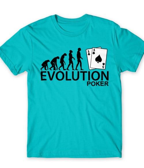 Evolution Poker Póló - Ha Poker rajongó ezeket a pólókat tuti imádni fogod!