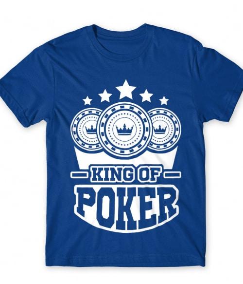 King of poker Póló - Ha Poker rajongó ezeket a pólókat tuti imádni fogod!
