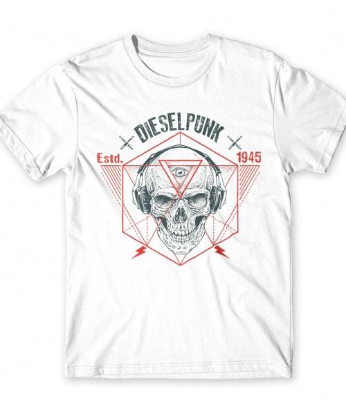 Dieselpunk Póló - Ha Skulls rajongó ezeket a pólókat tuti imádni fogod!