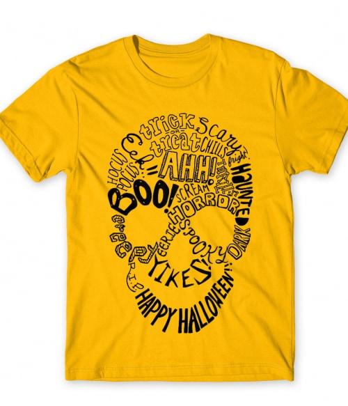 Skull text Póló - Ha Skulls rajongó ezeket a pólókat tuti imádni fogod!