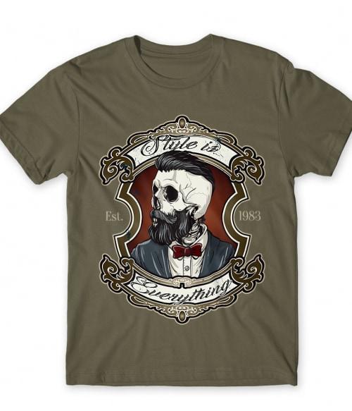 Style is everything Póló - Ha Skulls rajongó ezeket a pólókat tuti imádni fogod!