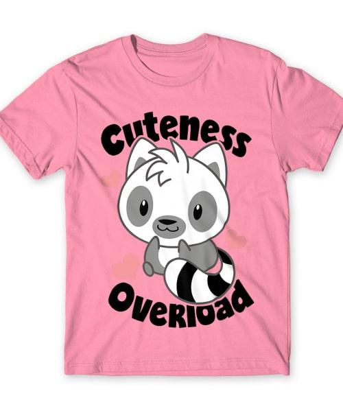 Cuteness overload Póló - Ha Lemur rajongó ezeket a pólókat tuti imádni fogod!