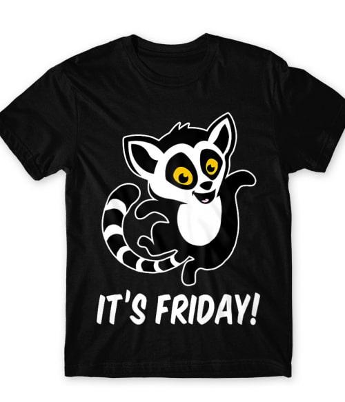 Friday lemur Póló - Ha Lemur rajongó ezeket a pólókat tuti imádni fogod!