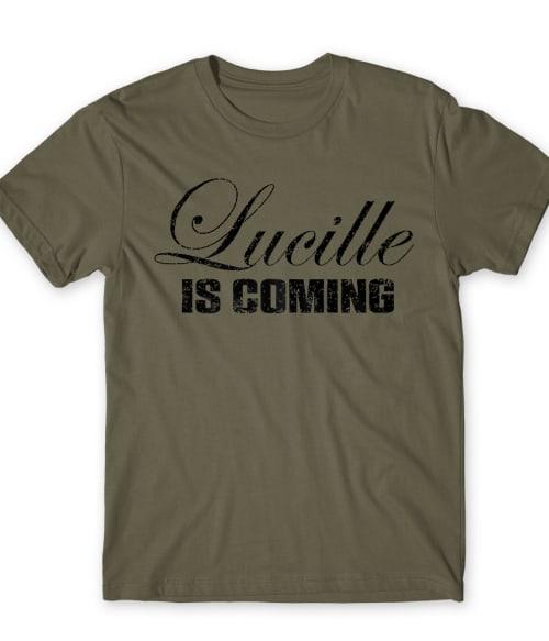 Lucille is coming Póló - Ha The Walking Dead rajongó ezeket a pólókat tuti imádni fogod!