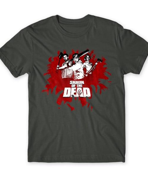 Shaun of the dead Póló - Ha The Walking Dead rajongó ezeket a pólókat tuti imádni fogod!