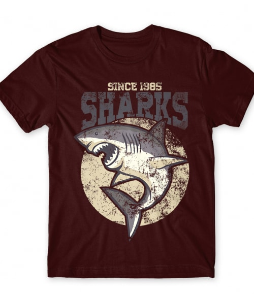 Shark 1985 Póló - Ha Shark rajongó ezeket a pólókat tuti imádni fogod!