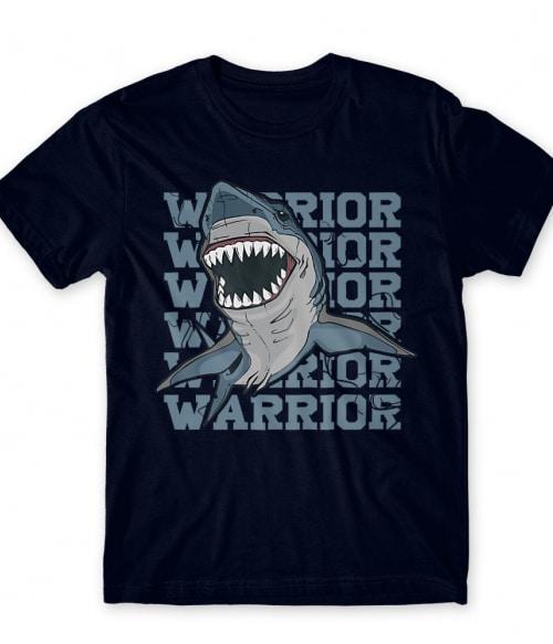 Warrior shark Póló - Ha Shark rajongó ezeket a pólókat tuti imádni fogod!