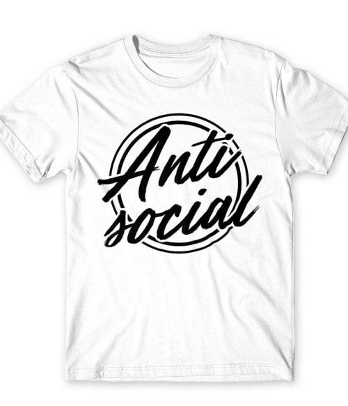 Antisocial logo Póló - Ha Antisocial rajongó ezeket a pólókat tuti imádni fogod!