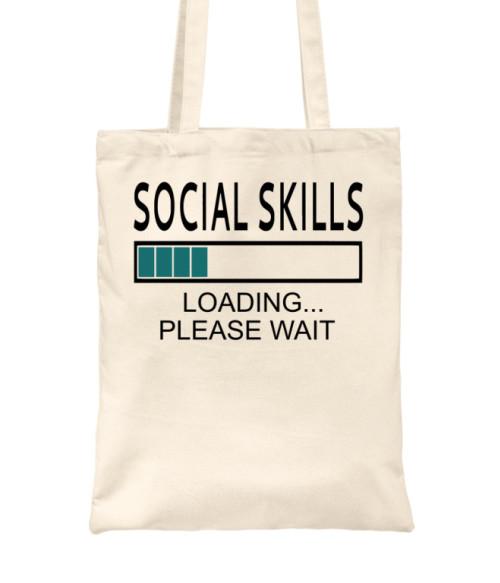 Social skills Póló - Ha Antisocial rajongó ezeket a pólókat tuti imádni fogod!