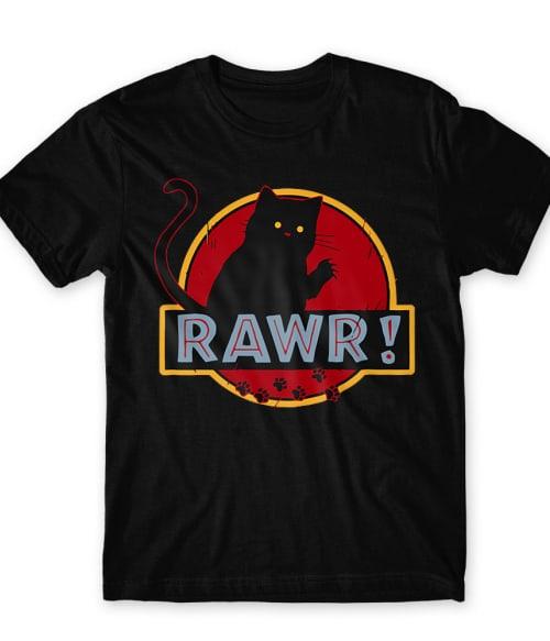 Jurassic cat rawr Póló - Ha Cat rajongó ezeket a pólókat tuti imádni fogod!