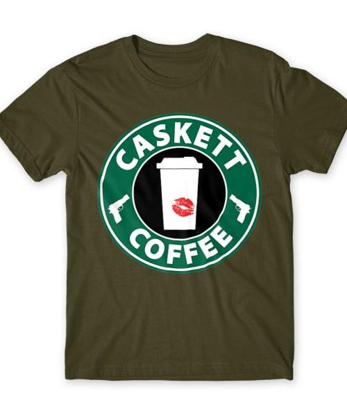 Caskett Coffee Póló - Ha Castle rajongó ezeket a pólókat tuti imádni fogod!