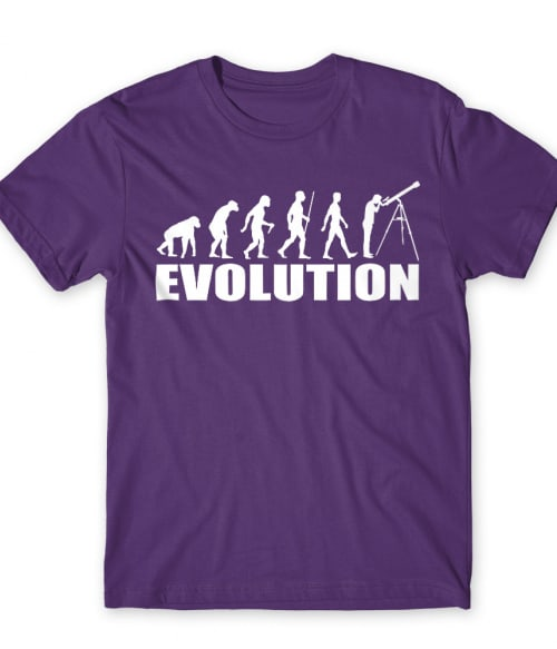 Astronomy evolution Póló - Ha Astronomy rajongó ezeket a pólókat tuti imádni fogod!