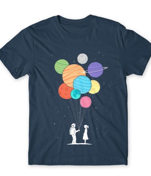 Universe love Póló - Ha Astronomy rajongó ezeket a pólókat tuti imádni fogod!
