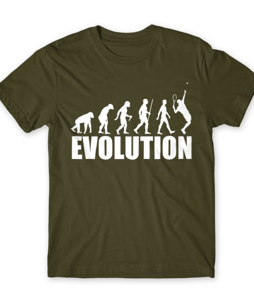 Tennis evolution Póló - Ha Tennis rajongó ezeket a pólókat tuti imádni fogod!