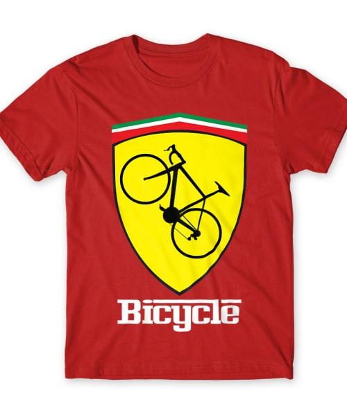 Bicycle Ferrari Póló - Ha Bicycle rajongó ezeket a pólókat tuti imádni fogod!