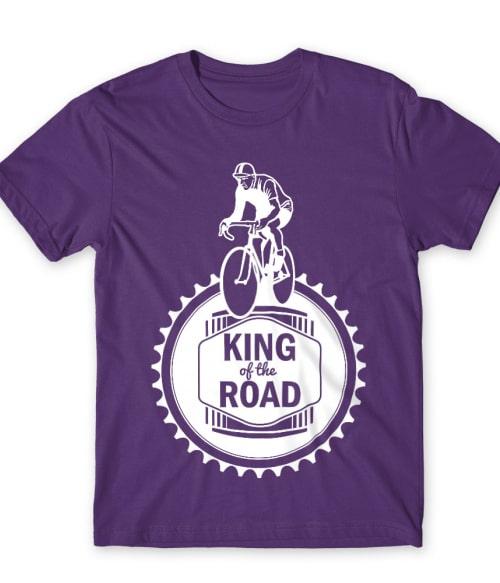 King of the Road Póló - Ha Bicycle rajongó ezeket a pólókat tuti imádni fogod!