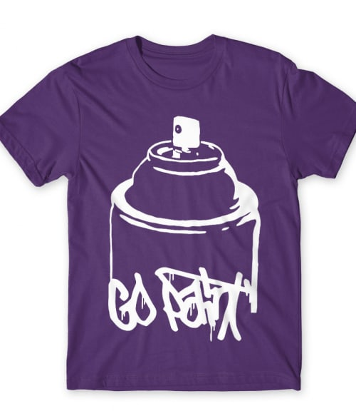 Go paint Póló - Ha Graffiti rajongó ezeket a pólókat tuti imádni fogod!