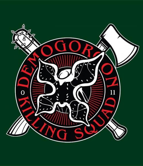 Killing Squad Póló - Ha Stranger Things rajongó ezeket a pólókat tuti imádni fogod!