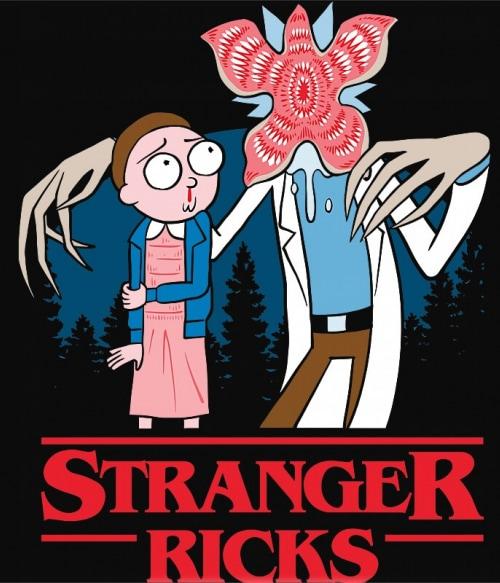 Stranger Ricks Póló - Ha Stranger Things rajongó ezeket a pólókat tuti imádni fogod!
