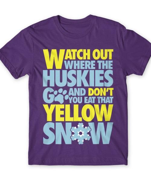 Yellow Snow Póló - Ha Ski rajongó ezeket a pólókat tuti imádni fogod!