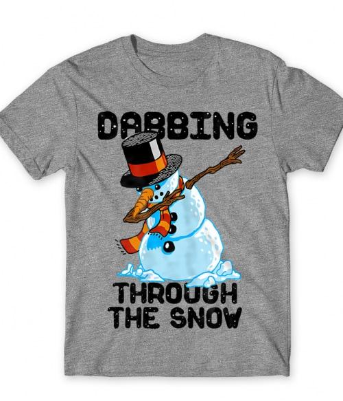 Dabing Through the Snow Póló - Ha Ski rajongó ezeket a pólókat tuti imádni fogod!
