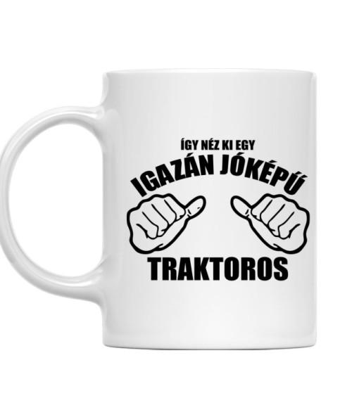 Jóképű traktoros Póló - Ha Tractor rajongó ezeket a pólókat tuti imádni fogod!