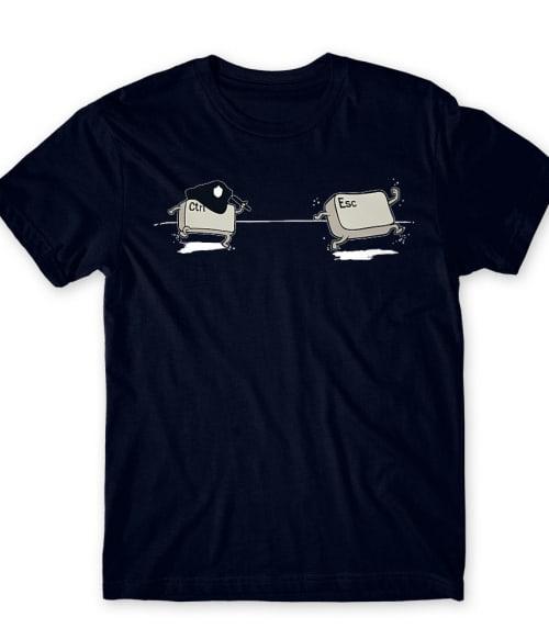 CTRL ESC Police Póló - Ha Police rajongó ezeket a pólókat tuti imádni fogod!