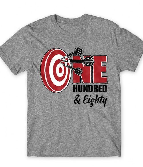 One hundred and eighty Póló - Ha Darts rajongó ezeket a pólókat tuti imádni fogod!