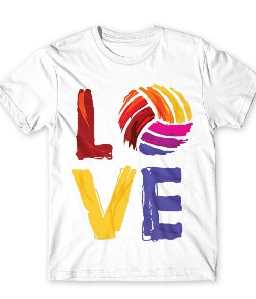 Love volleyball Póló - Ha Volleyball rajongó ezeket a pólókat tuti imádni fogod!