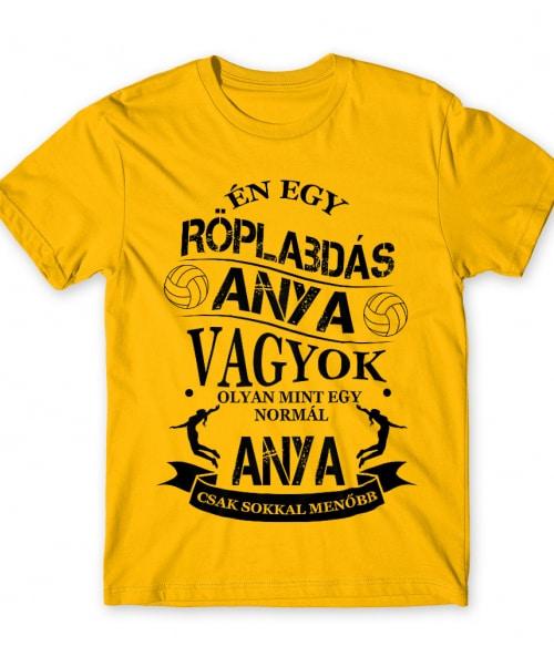 Röplabdás anya Póló - Ha Volleyball rajongó ezeket a pólókat tuti imádni fogod!