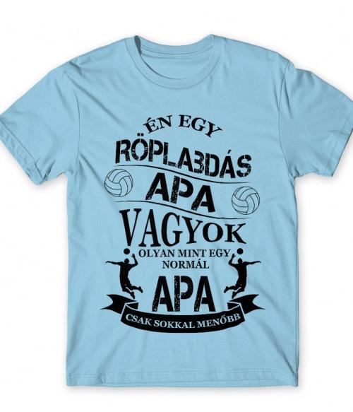 Röplabdás apa Póló - Ha Volleyball rajongó ezeket a pólókat tuti imádni fogod!
