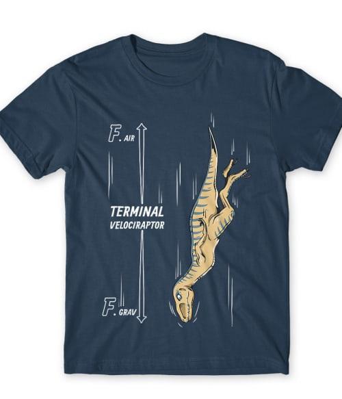 Terminal Velociraptor Póló - Ha Dinosaur rajongó ezeket a pólókat tuti imádni fogod!