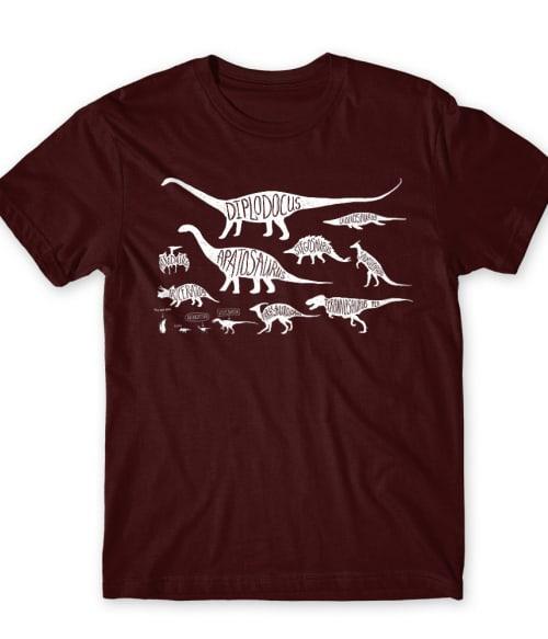 You Are Here Póló - Ha Dinosaur rajongó ezeket a pólókat tuti imádni fogod!